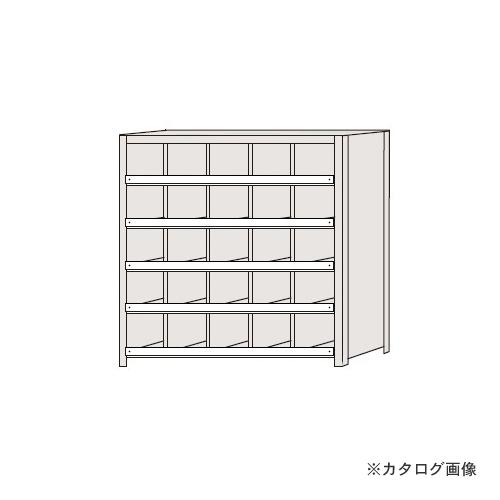 【運賃見積り】【直送品】サカエ SAKAE 区分棚 コボレ止め付タイプ NCC711-505