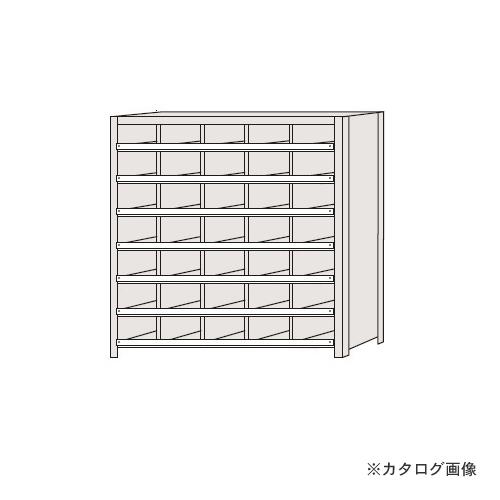 【運賃見積り】【直送品】サカエ SAKAE 区分棚 コボレ止め付タイプ NCC711-507