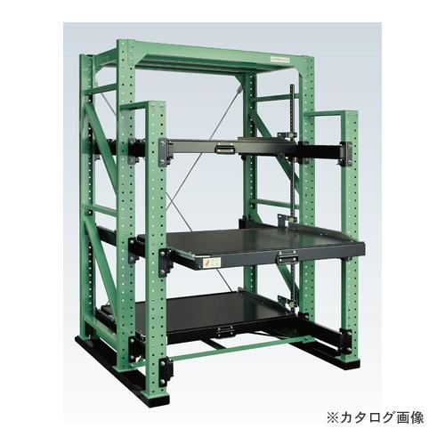 【運賃見積り】【直送品】サカエ SAKAE スライドラック フルストロークタイプ NSDR-14FT