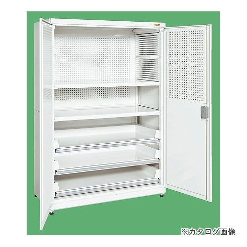 【直送品】サカエ SAKAE パンチング保管庫 PNH-9063PC3W