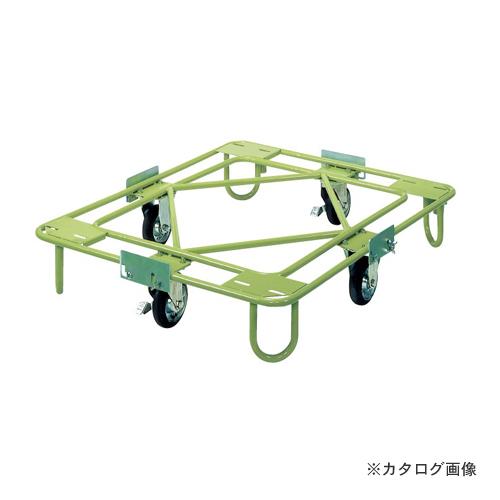 【直送品】サカエ SAKAE 自在移動回転台車 軽量型 標準タイプ RA-2G