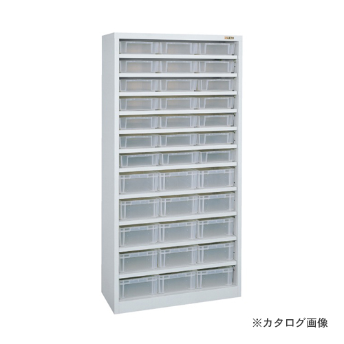 【直送品】サカエ SAKAE コンテナラック・透明コンテナ付 SCR-180B
