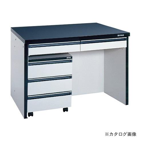 【直送品】サカエ SAKAE サイド実験台用キャビネットワゴン付タイプ SGA-12LA
