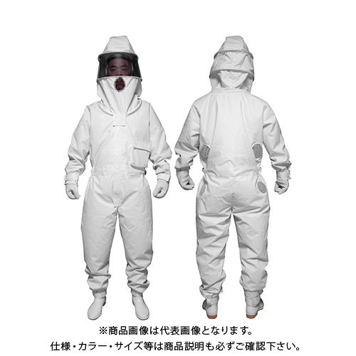 日本緑十字 冷却ファン付き蜂防護服 ホーネット1 375578