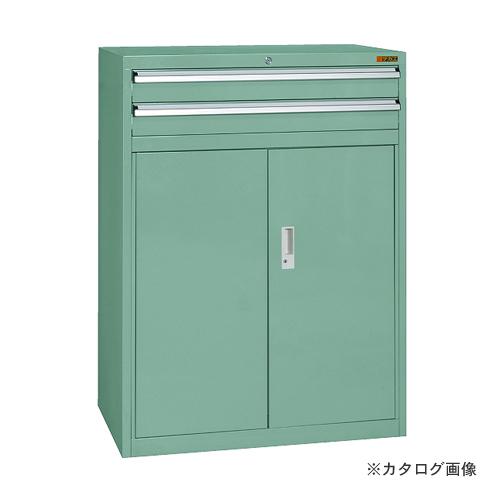 【直送品】サカエ SAKAE キャビネット保管庫 SKV8タイプ SKV8-M121ANG
