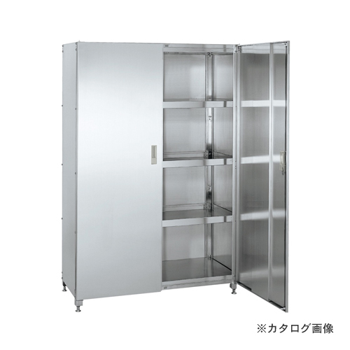 【直送品】サカエ SAKAE ステンレススーパーラック保管庫 SPR4-120HSU