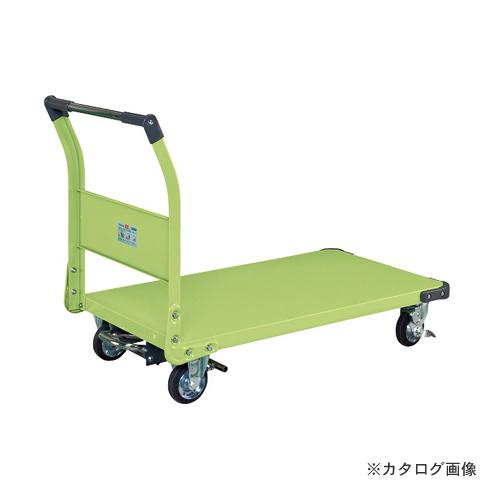 【直送品】サカエ SAKAE 特製四輪車フットブレーキ付 TAN-66BR