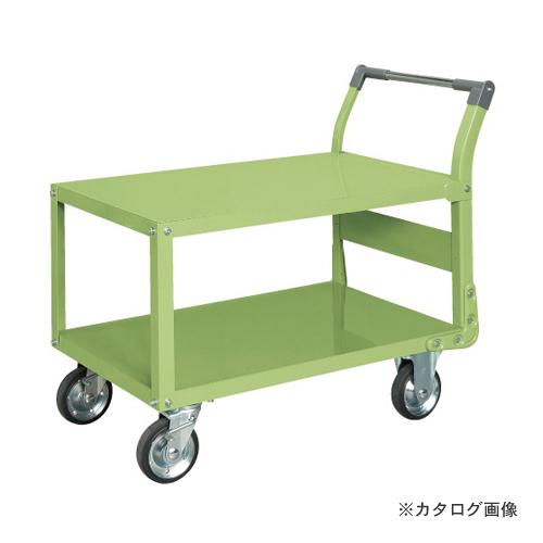 【直送品】サカエ SAKAE 特製四輪車 二段タイプ TAW-55