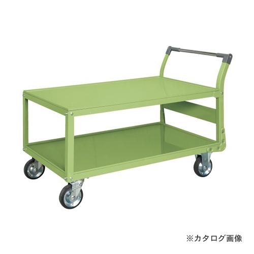 【直送品】サカエ SAKAE 特製四輪車 二段タイプ TAW-88