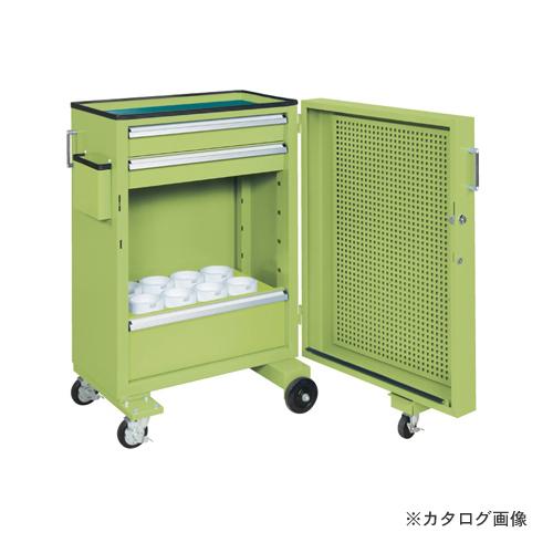 【直送品】サカエ SAKAE ツーリングキャビネットワゴン・スイングドア付 TLC-AAF1GNA