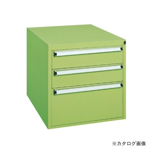 【直送品】サカエ SAKAE 重量作業台用オプションキャビネット W-3N