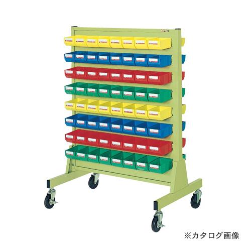 【直送品】サカエ SAKAE パネルハンガー 移動式 片面タイプ ZAW-6Y