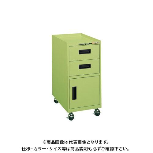 【直送品】サカエ 作業台用キャビネットワゴン 1A