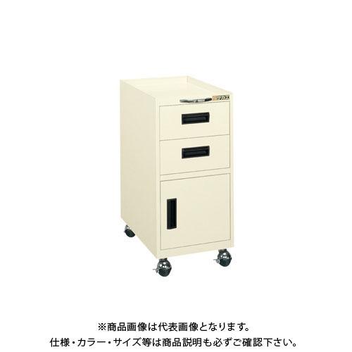 【直送品】サカエ 作業台用キャビネットワゴン 1AI