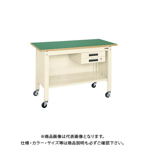 【直送品】サカエ 一人用作業台・軽量移動式 CPB-096BI