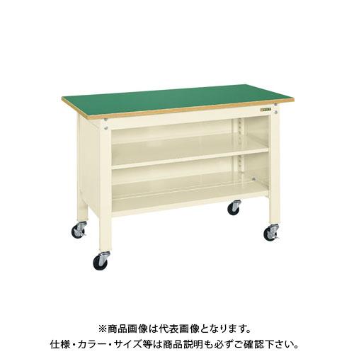 【直送品】サカエ 一人用作業台・軽量移動式 CPB-126TI