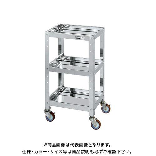 【直送品】サカエ ステンレスニューCSツールワゴン CSLA-4073SU4