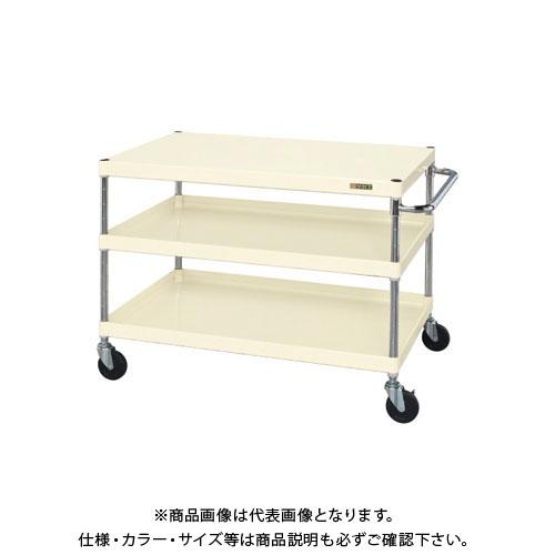 【直送品】サカエ ニューCSパールワゴン(ゴム車) CSPA-107I