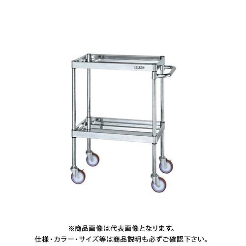 【直送品】サカエ ステンレスニューCSパールワゴン CSPA-6082SU4