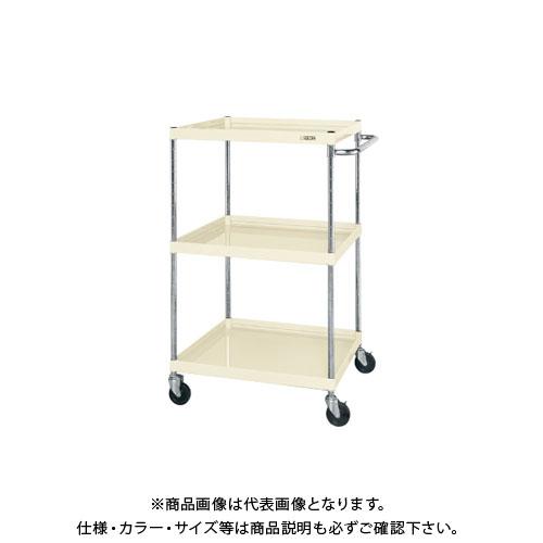 【直送品】サカエ ニューCSパールワゴン(ゴム車・深棚仕様) CSPA-75123FI