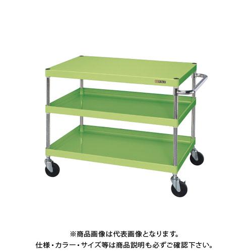 【直送品】サカエ ニューCSパールワゴン(ゴム車) CSPA-907
