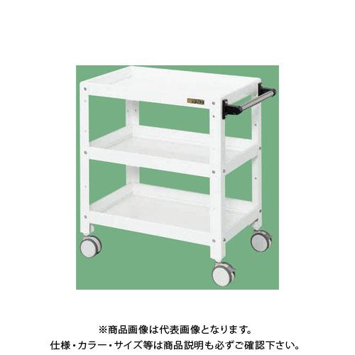 【直送品】サカエ ニューCSスペシャルワゴン(双輪キャスター仕様) CSSA-607RDW