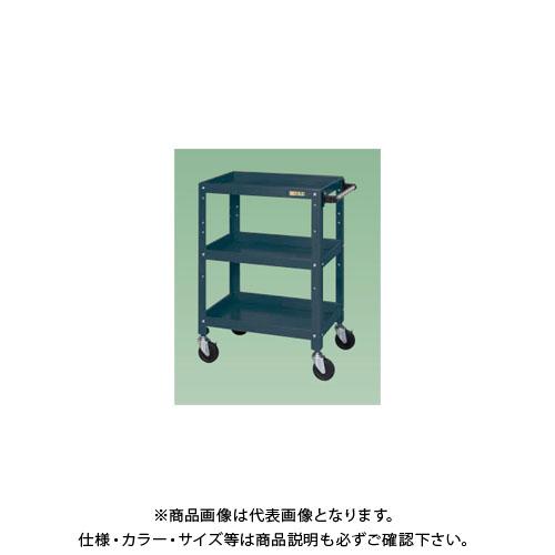 【直送品】サカエ ニューCSスペシャルワゴン(ダークグレー・ゴム車) CSSA-608D