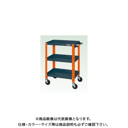 【直送品】サカエ ニューCSスペシャルワゴン(ツートン・ゴム車) CSSA-758DOR