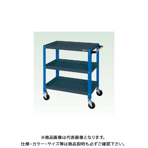 【直送品】サカエ ニューCSスペシャルワゴン(ツートン・ゴム車) CSSA-608DB