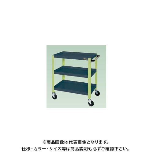 【直送品】サカエ ニューCSスペシャルワゴン(ツートン・ゴム車) CSSA-608DG