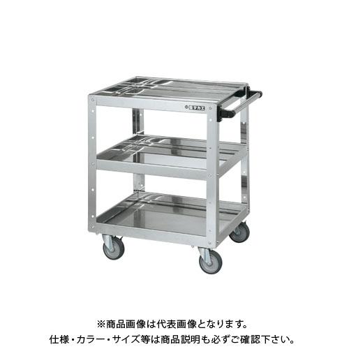 【直送品】サカエ ステンレスニューCSスーパーワゴン CSWA-607SU4EJ