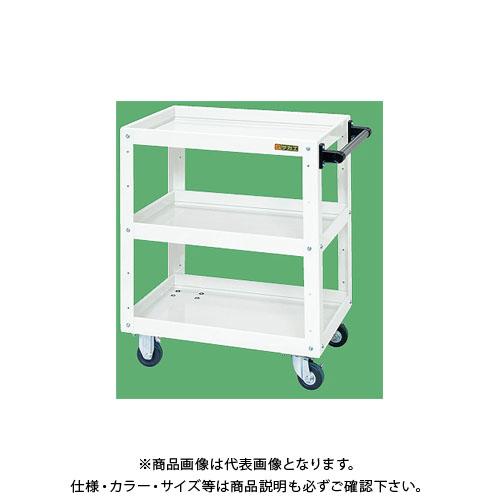 【直送品】サカエ ニューCSスーパーワゴン(パールホワイト) CSWA-607JW