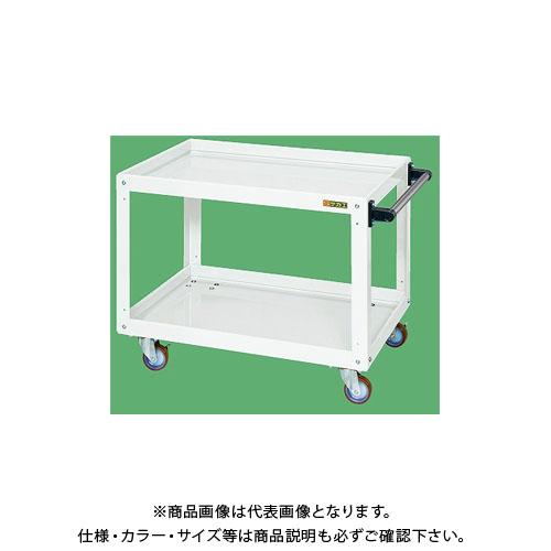 【直送品】サカエ ニューCSスーパーワゴン(パールホワイト) CSWA-756JNUW