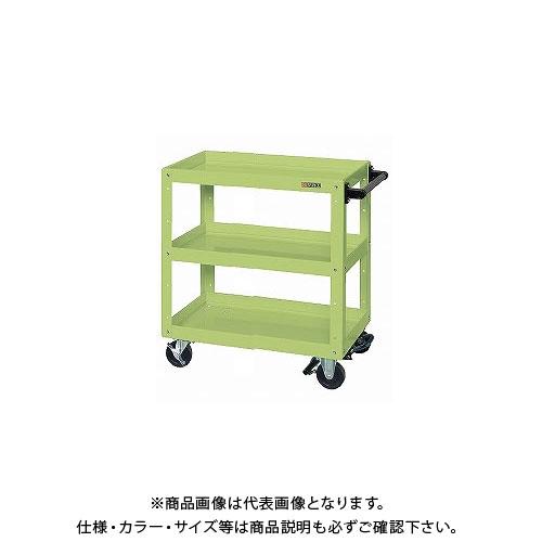 【直送品】サカエ ニューCSスーパーワゴン フットブレーキ付 CSWA-757BR