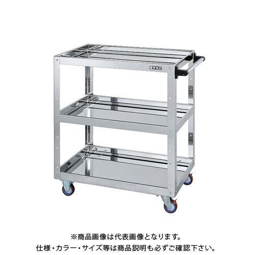 【直送品】サカエ ステンレスニューCSスーパーワゴン CSWA-758SU4