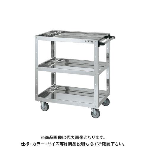【直送品】サカエ ステンレスニューCSスーパーワゴン CSWA-758SU4EJ