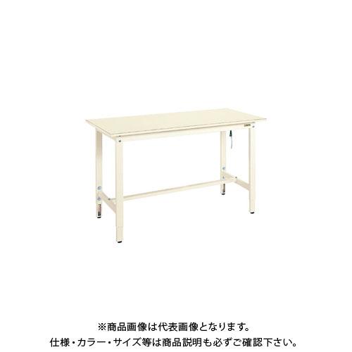 【直送品】サカエ 帯電防止マット張高さ調整作業台 DSS-157I