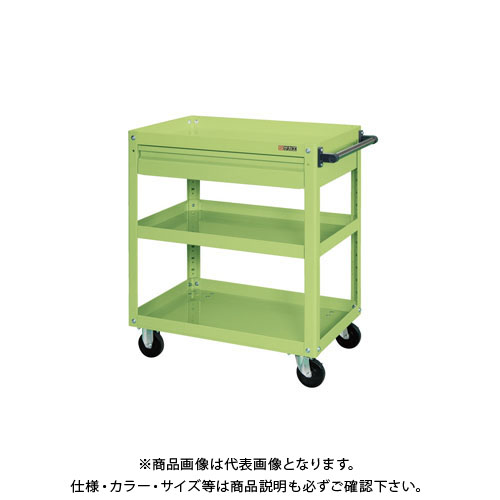 【直送品】サカエ スーパーワゴン引出付 EKR-1CJNU