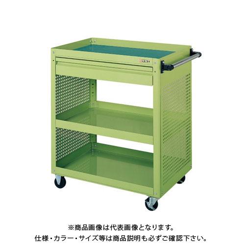 【直送品】サカエ スーパーワゴン EKR-1CP