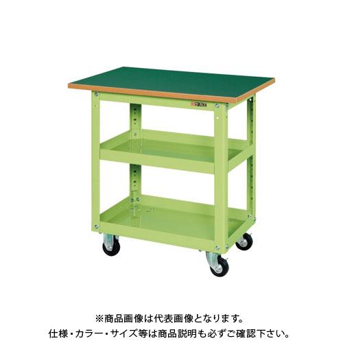 【直送品】サカエ スーパーワゴン天板付 EMR-157T