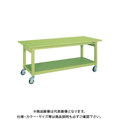 【直送品】サカエ 中量作業台KBタイプ移動式 KBS-187