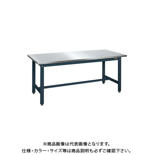 【直送品】サカエ 軽量作業台KKタイプ・ステンレス天板仕様 KK-189SU3DN