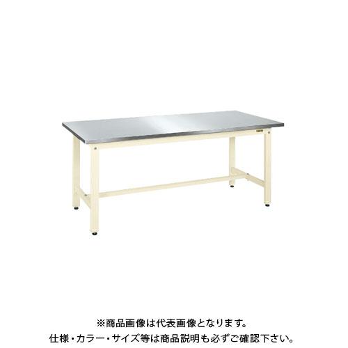 【直送品】サカエ 軽量作業台KKタイプ・ステンレス天板仕様 KK-096SU3NI