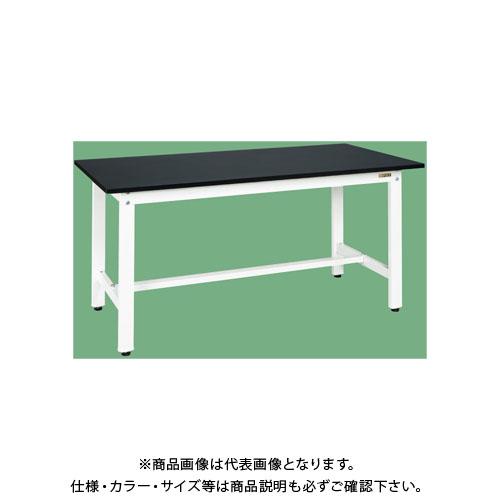 【直送品】サカエ 軽量作業台KKタイプ(パールホワイト) KK-69LFW