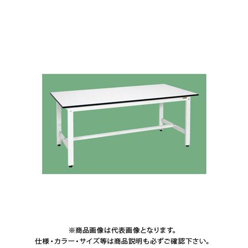 【直送品】サカエ 軽量作業台(パールホワイト) KK-69LW