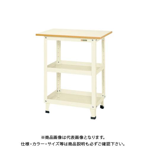 【直送品】サカエ スーパーワゴン固定タイプ(天板付) KN-200TI