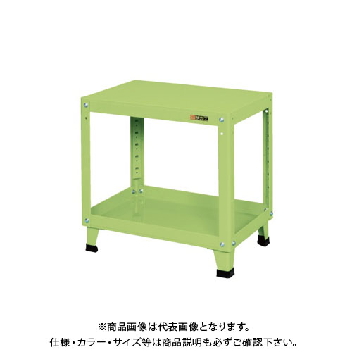 【直送品】サカエ スーパーワゴン 固定タイプ KMN-156