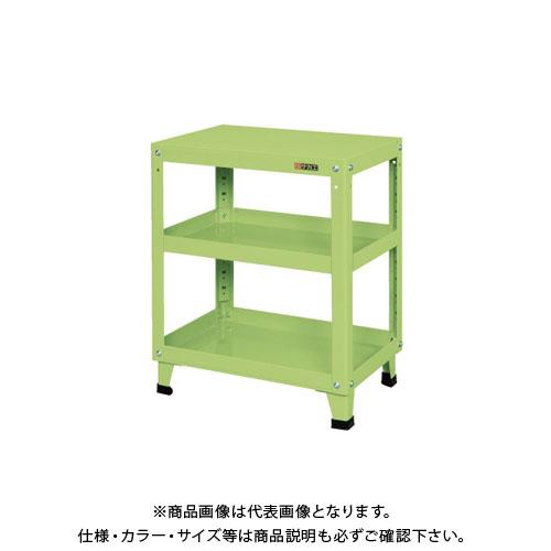 【直送品】サカエ スーパーワゴン 固定タイプ KMN-157