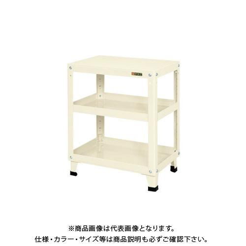【直送品】サカエ スーパーワゴン 固定タイプ KMN-157I