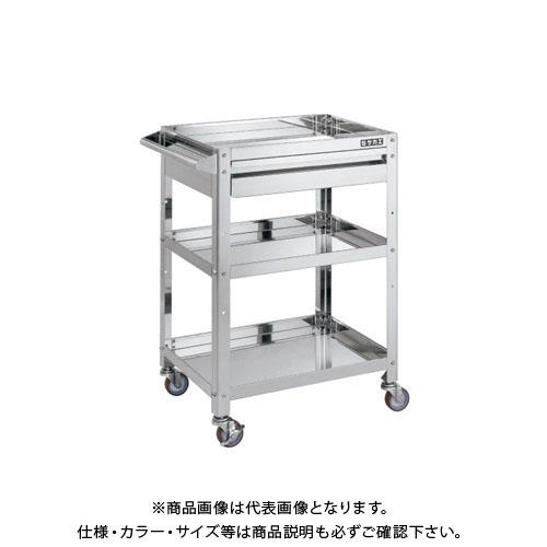 【直送品】サカエ スーパーワゴン KMR-150CSS